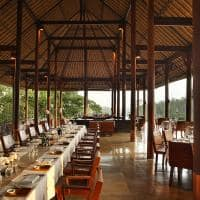Restaurante Plantation no Alila Ubud