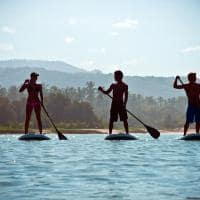Stand up paddle Nihiwatu