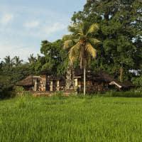 Templo próximo ao Alila Ubud