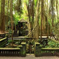 Templo Ubud, Bali, Indonésia
