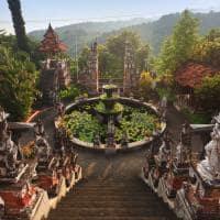 Viagem Indonésia: Templo Banjar, Bali