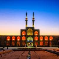 Mesquita Chakhmaq - Yazd, Irã.