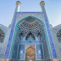 Mesquita Jameh, patrimônio mundial da UNESCO - Isfahan, Irã.
