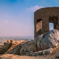 Ruínas de Zoroastrian, templo do fogo - Yazd, Irã.