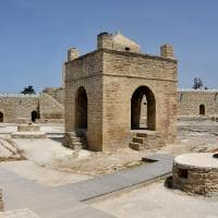 Templo de Baku, o templo do fogo - Yazd, Irã.