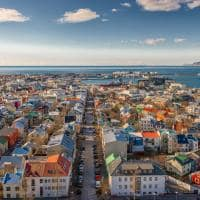 Viagem Islândia: ruas prédios capital Reykjavik