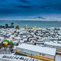 Viagem Islândia: vista capital Reykjavik