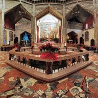 Interior da Basílica da Anunciação - Nazaré, Israel.