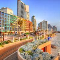 Praia de Tel Aviv - Israel.