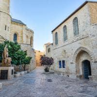 Rua da antiga Jerusalém