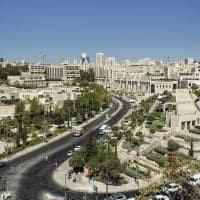 Vista da cidade de Jerusalém - Israel