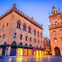 Bolonha it lia palazzo comunale na piazza maggiore
