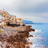 Cidade velha de costa de cefal rochosa sic lia
