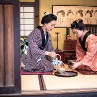 Cerimonia do cha em quioto