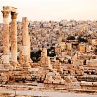 Atração turítica Jordânia: Templo Hércules, Amã