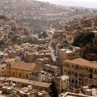 Cidade de Salt na Jordânia
