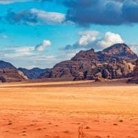 Deserto Wadi Rum - Jordânia.