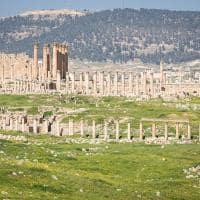 Ruínas da antiga Jerash - Jordânia