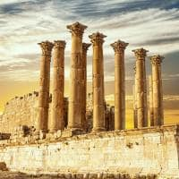Templo de Artemis - Jerash, Jordânia.