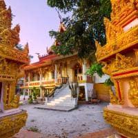 Atração turística Laos: Templo Budista