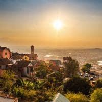 Entardecer em Antananarivo