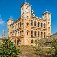 Palácio Real Rova em Antananarivo - Madagascar