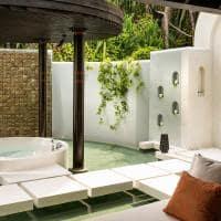 6 kihavah banheiro beach pool villa