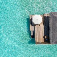 Baglioni maldives vista aerea water villa