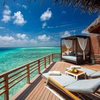 baros maldives water villa deck