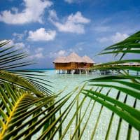 baros maldives water villa exterior