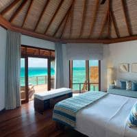 baros maldives water villa interior