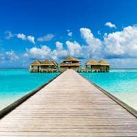 Caminho spa, PER AQUUM Huvafen Fushi, Ilhas Maldivas