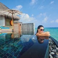 Constance halaveli maldives piscina da water villa