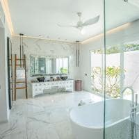 Emerald maldives banheiro beach villa