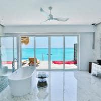 Emerald maldives banheiro water villa with pool