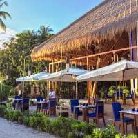 Emerald maldives exterior restaurante aqua