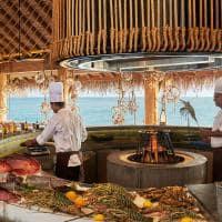 Fairmont maldives sirru fen fushi restaurante azure