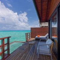 Grand park kodhipparu deck lagoon water villa