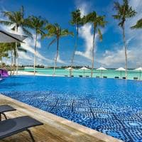Hard rock hotel maldives piscina
