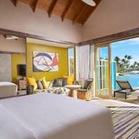 Hard rock hotel maldives platinum overwater villa room
