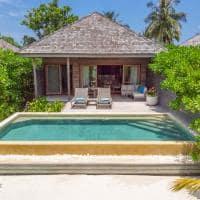 Hurawalhi beach pool villa