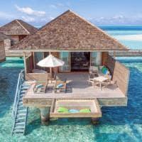 Hurawalhi romantic ocean villa exterior