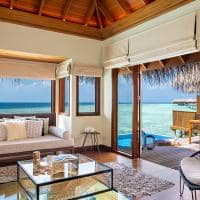 Huvafen fushi ocean bungalow with pool sala