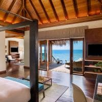 Huvafen fushi ocean bungalow with pool vista quarto