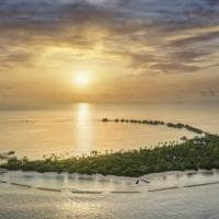 Jw marriott maldives vista aerea pordosol