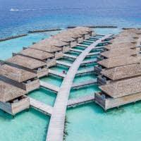 Kagi maldives aerea villas sobre aguas