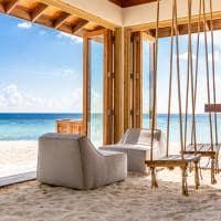 Kagi maldives beach hut