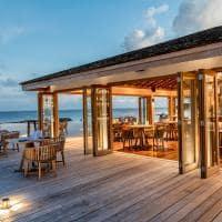 Kagi maldives exterior restaurante ke un
