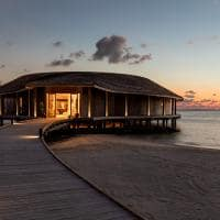 Kagi maldives spa entardecer