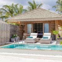 Kagi maldives terraco beach pool villa